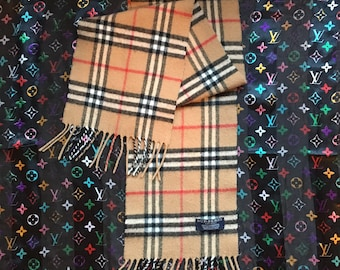 Vintage Authentic burberry london scarf
