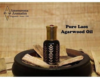 Pure Laos Oudh- Dark Mai Ketsana Agarwood Oudh Oil - Finest Dark Laos Beauty