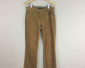 80's Tan Corduroy Pants