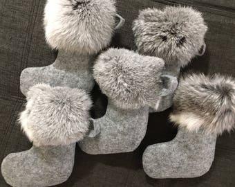 Felt & Fur Modern Ornaments