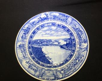 Baltimore & Ohio Railroad Company Commemorative Plate by Lamberton