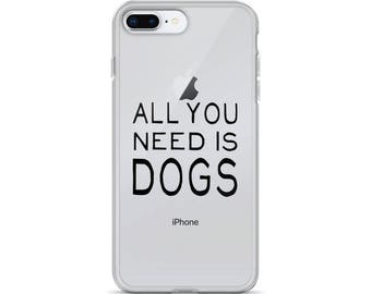 All you need is dogs - iPhone Case