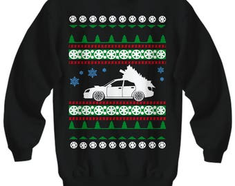Subaru WRX STI Blobeye Ugly Christmas Sweater Sweatshirt JDM all wheel drive subie holidays drift