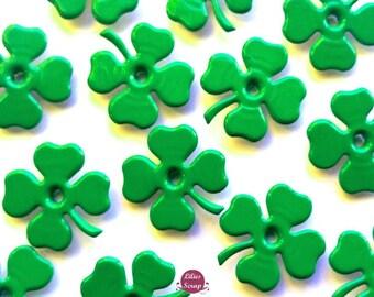12 eyelets quicklets clover 1/8 20 mm eyelets scrapbooking cardmaking