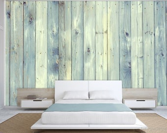 old board wallpaper, old board wall mural, wood texture wallpaper, blue wood, wood wall mural, wood wallpaper, old wood texture, wood decal