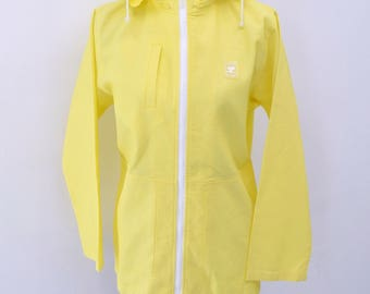 Vintage 90's COURREGES Sport Futur Zipper Hoodie Sweater Jacket Size 40