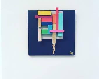 Modern Art, Abstract Art, Abstract Sculpture *** Free Shipping!