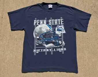 Vintage Penn St. Nittany Lions T-shirt Large 90's college football