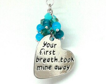 Your first breath christmas ornament