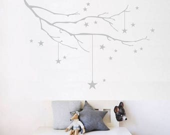 Wall stickers nursery | Stellar branch | Sticker