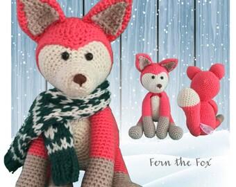 Fern the Fox - Crochet Amigurumi Digital Downloadable Pattern PLUS FREE Owl Pattern
