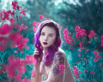 Fairy Dream Girl - Fine Art Print