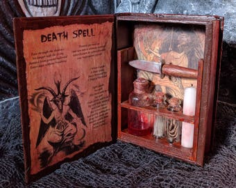 Death Spell Witch Kit, Eye of Lightening