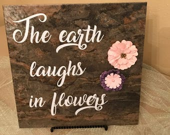 Earth decorative art