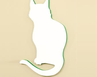 Dry Erase Board- Fun shaped whiteboards (Cat)