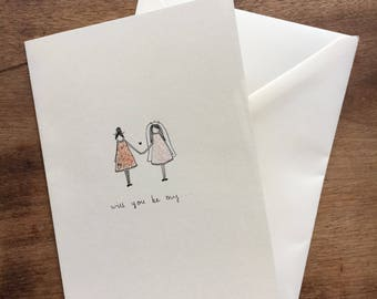 Will you be my ... Greetings Card