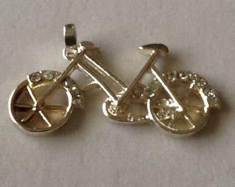 Vintage Bicycle Pendant