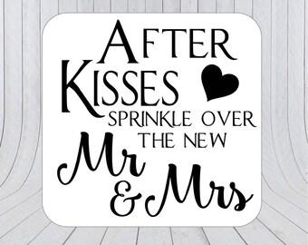 Confetti Stickers, Confetti Labels, Wedding Confetti, Confetti tags, Confetti 194