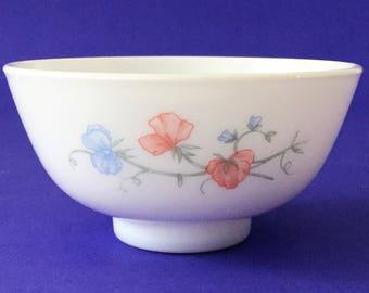 Vintage Arcopal France Pois de Senteur Bowl