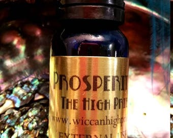 Prosperity Spell Oil: Attract Money, Wealth and Abundance