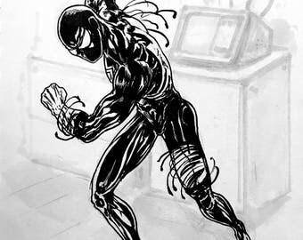 Spiderman Symbiote Suit