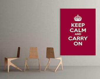 Keep Calm Decal, keep calm, keep calm sticker, keep calm and, keep calm decals, carry on decal, custom keep calm, keep calm carry on