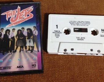 The Jets - Magic audio cassette tape 1987
