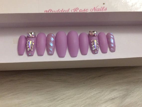 Fairytale3d nail unicorn nailcoffin nails custom designer fairytale3d nail unicorn nailcoffin nails custom designer press on nails any shape and size fake false glue on nails from studdedrosenails on prinsesfo Choice Image
