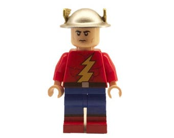 LEGO minifigures Custom - Jay Garrick V2 Made with Original LEGO Parts