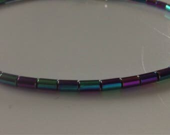 Natural Rainbow Hematite Anklet / Bracelet