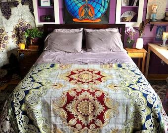 Shanti Jaquard Loom Blanket