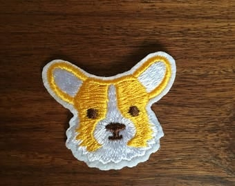 Corgi - Iron on Appliqué Patch