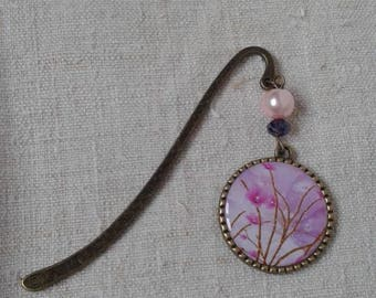 "Bookmark ""pink flower"""