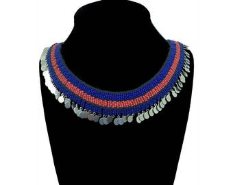 Exotic and Native Collar Handmade Necklace