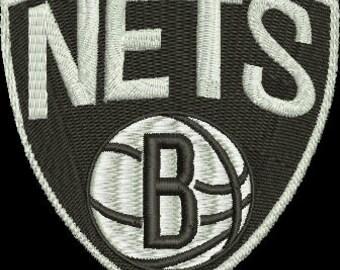 BROOKLYN NETS embroidery