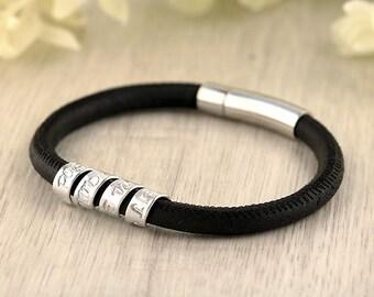 Coordinate bracelet - Custom coordinates - Inspirational jewelry - Inspirational bracelet - Gift for women -  Inspirational quote jewelry