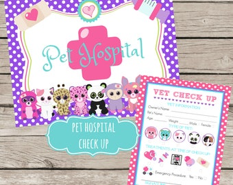 Pet Adoption Certificate Adopt a Pet Birthday Party Ideas