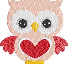 Owl embroidery design, Embroidery Design, Owl Embroidery, Owl, Machine Embroidery, Instant Download