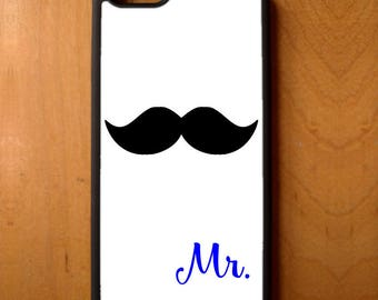Mr Mustache Love Print Phone Case Cover Samsung Galaxy S6 S7 S8 Note Edge Apple iPhone 4 4S 5 5S 5C 6 6S 7 SE Plus + LG G3 skin snap rubber