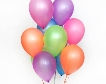 Neon Balloons - pack of 10