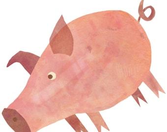 Pig Vinyl Sticker