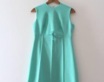 vintage 1960s mini dress