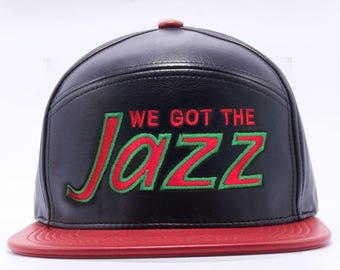 Limited Edition!!! A Tribe Called Quest Jazz Premium Leather Cap Hat Low End Theory Q-Tip Phife
