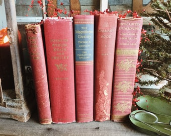 Old Books - Mid-Century Mix of Poetry, Magic & Music
