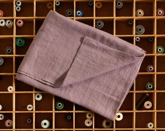 Linen Fabric By Meter,Lavender Linen Fabric,Softened linen By Yard,Stonewashed Linen Fabric,Washed Linen Fabric,Pure 100% Linen Fabric