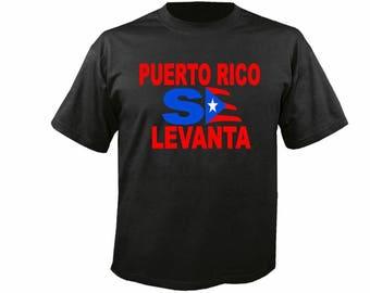 Puero Rico Se Levanta T shirt / Puerto Rico Rise T Shirt Donation Relief Hurricane Maria  Fast Shopping