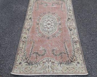 """OUSHAK Rug, Turkish Rug, Vintage Rug, Bohemian Rug,Primitive Rug, Wedding Rugs, Nomadic Rugs, Nursery Rug, Trending Rug, Rugs, 6'7""""x3'4""""feet"""