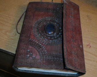 Leather bound blank  Book of Shadows