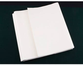 Chinese Calligraphy Paper, Rice paper, 200 sheets, 13.78 inch x 26.57 inch, Korean calligraphy paper