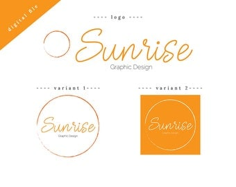 CUSTOM Business Logo with Variations   Fun and playful